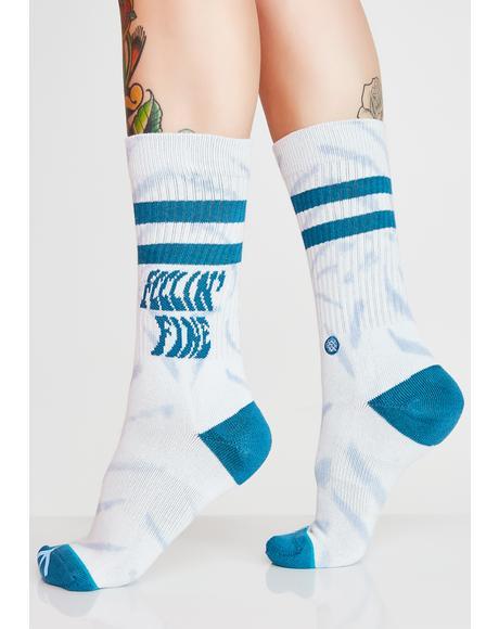 Feelin Fine Crew Socks