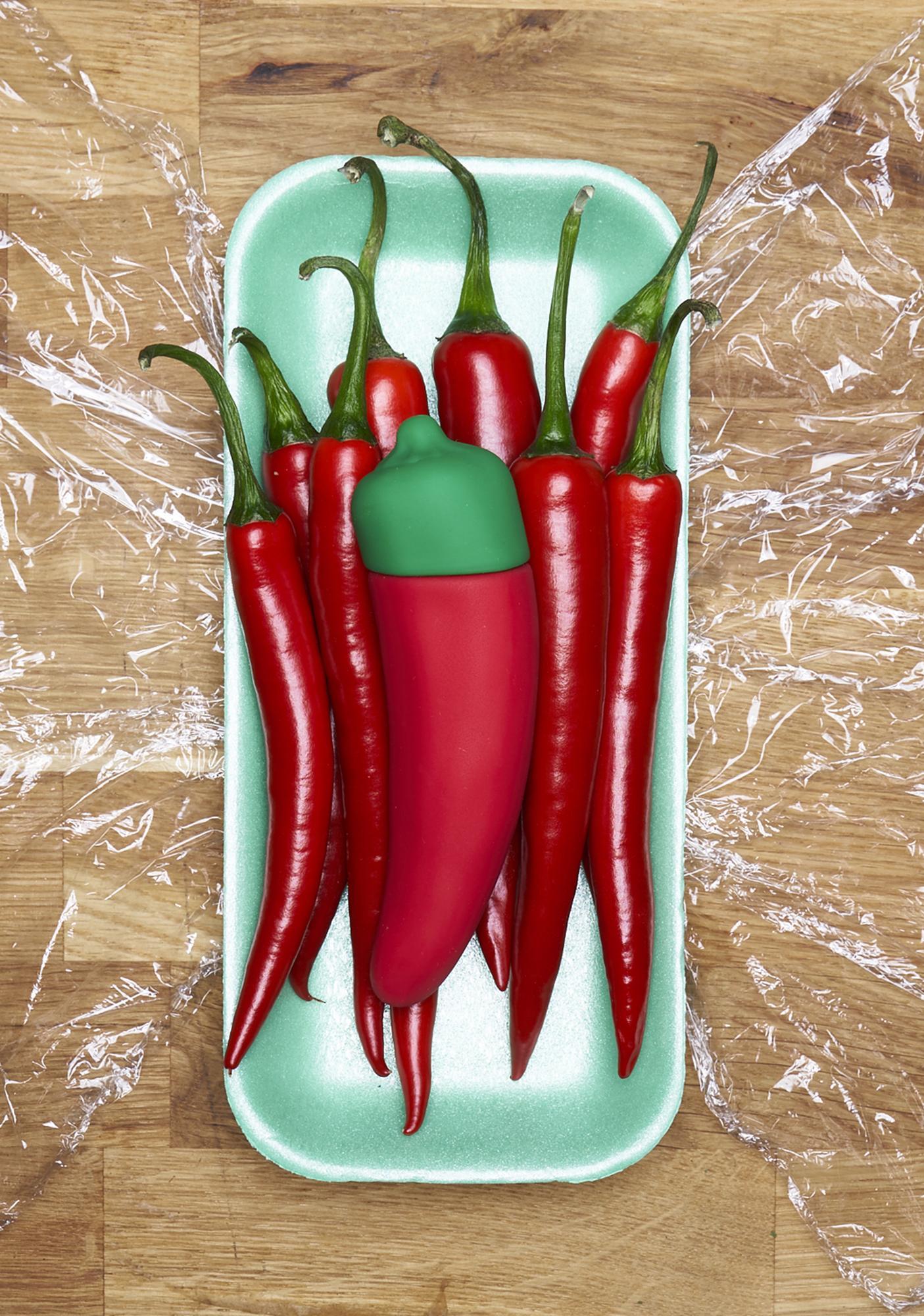 Emojibator The Chili Pepper Emojibator Vibrator