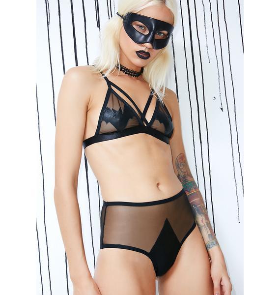 Dolls Kill Naughty Nosferatu Sheer Panties