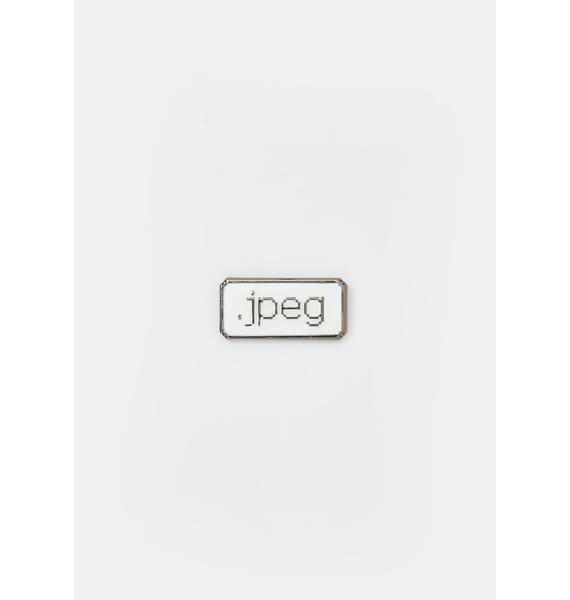 Studio Cult JPEG Enamel Pin