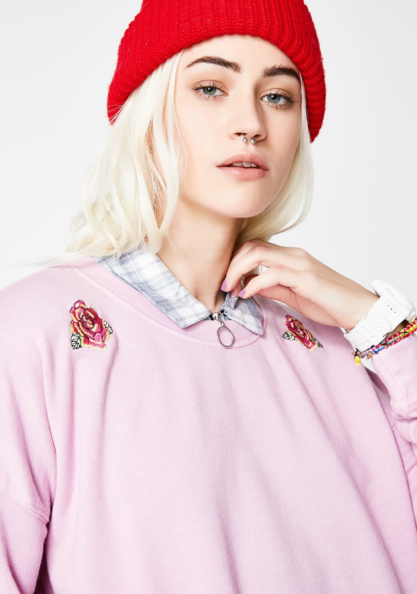 Obey Esme Crew Sweatshirt