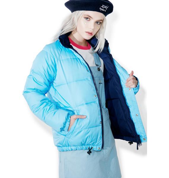 MadeMe x X-Girl Reversible Puffy jacket