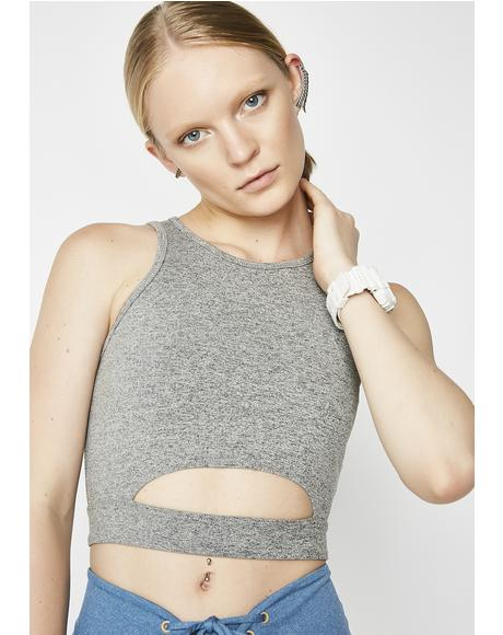 Cut Out Sports Bra