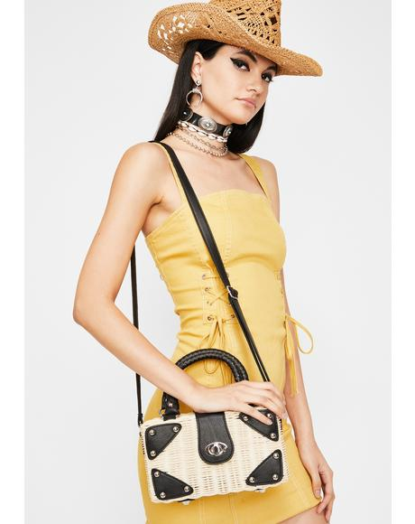Country Symphony Straw Bag