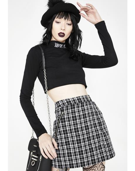 Class Dismissed Plaid Skirt