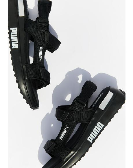 Black Rider Sandals