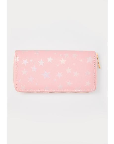 Shopping Addict Star Wallet