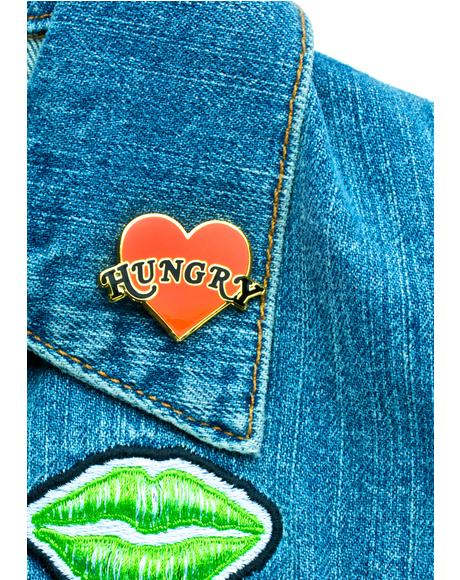Hungry Heart Pin