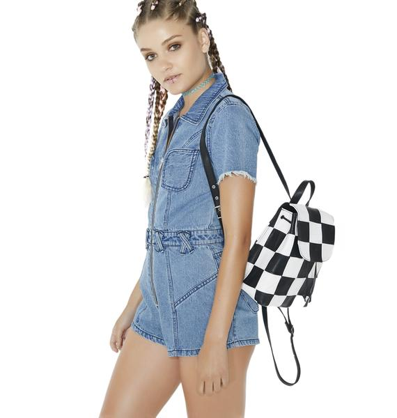 Somedays Lovin Blue Bird Denim Playsuit