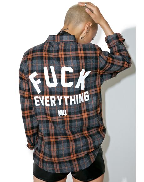 Fuck Everything Flannel