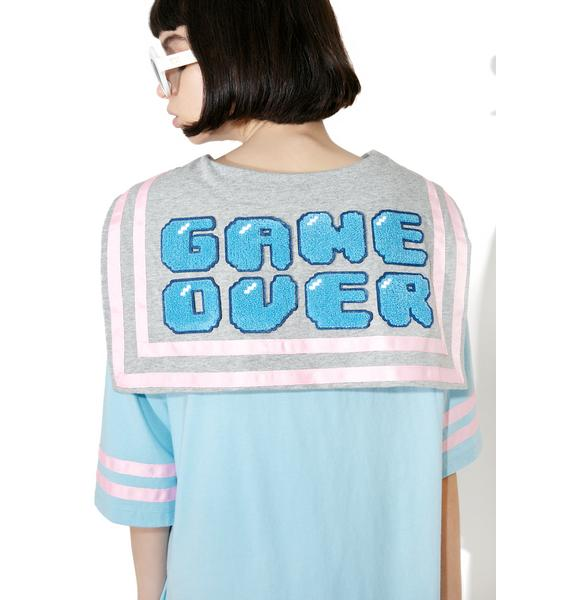 Lazy Oaf Game Over Tee