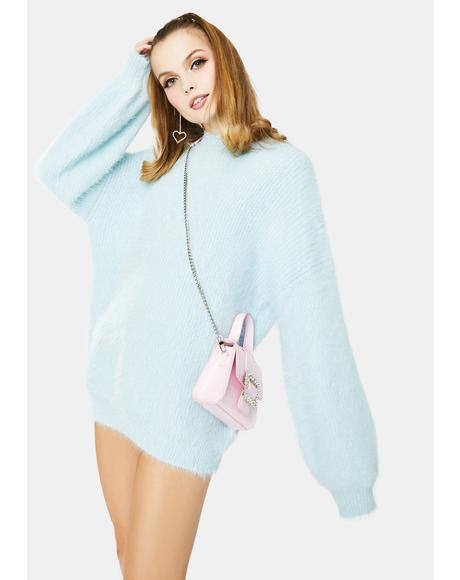 Soft Blue Cozi Knit