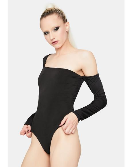 Wait A Lifetime One Sleeve Bodysuit