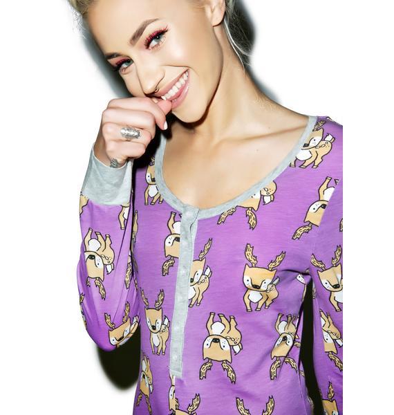 Mink Pink I Deer You Playsuit