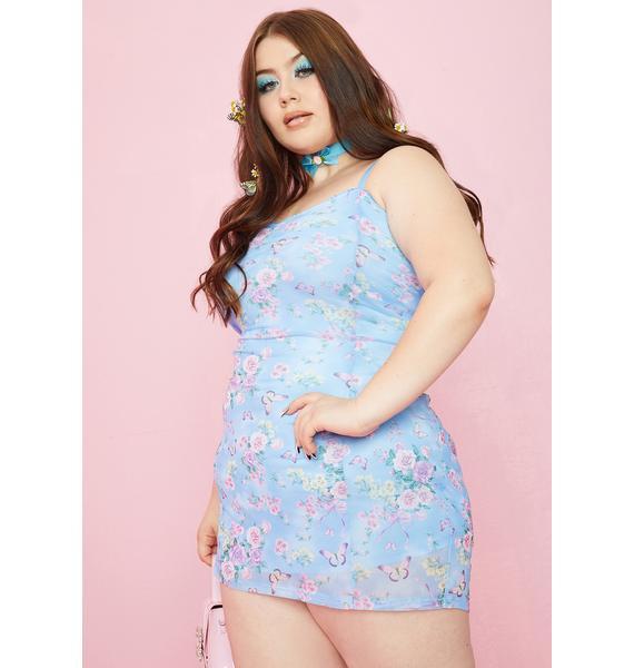 Sugar Thrillz Divine Finding Eden Ruched Dress