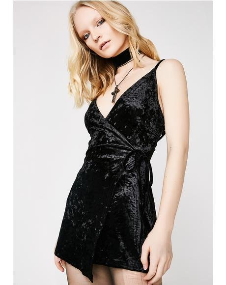 Crush On My Ex Wrap Dress