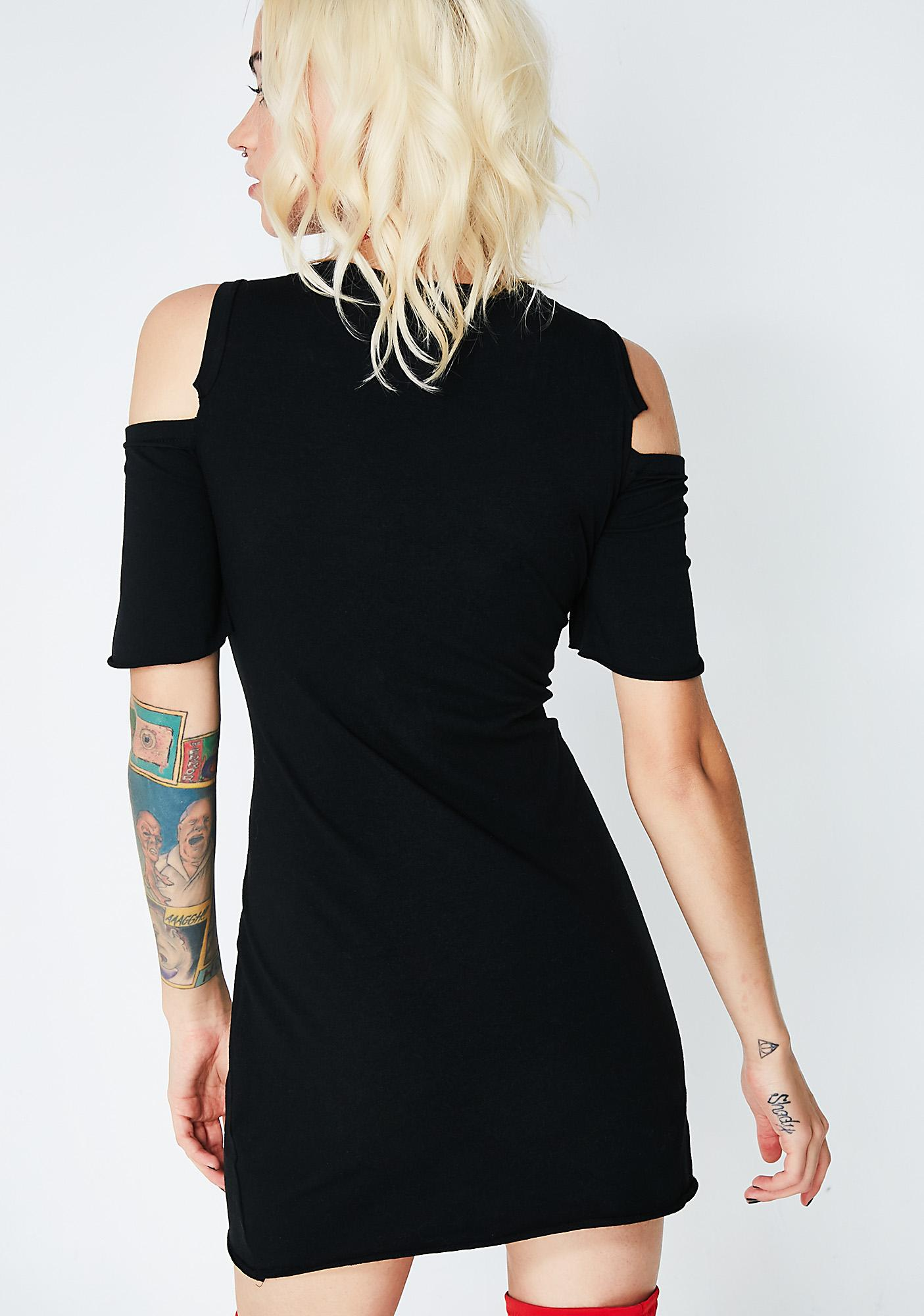 Hawky Cold Shoulder Dress