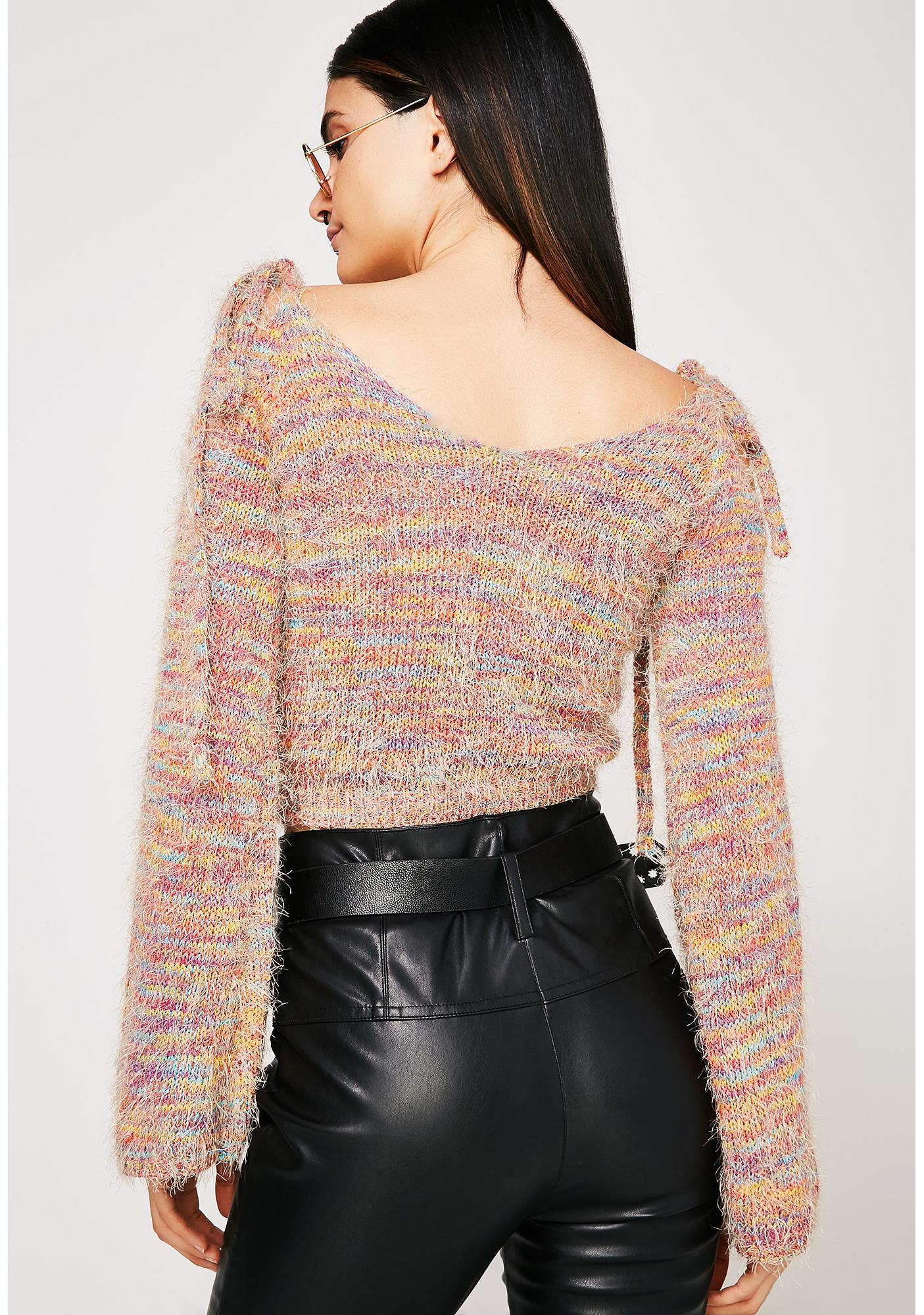 True Colors Rainbow Sweater