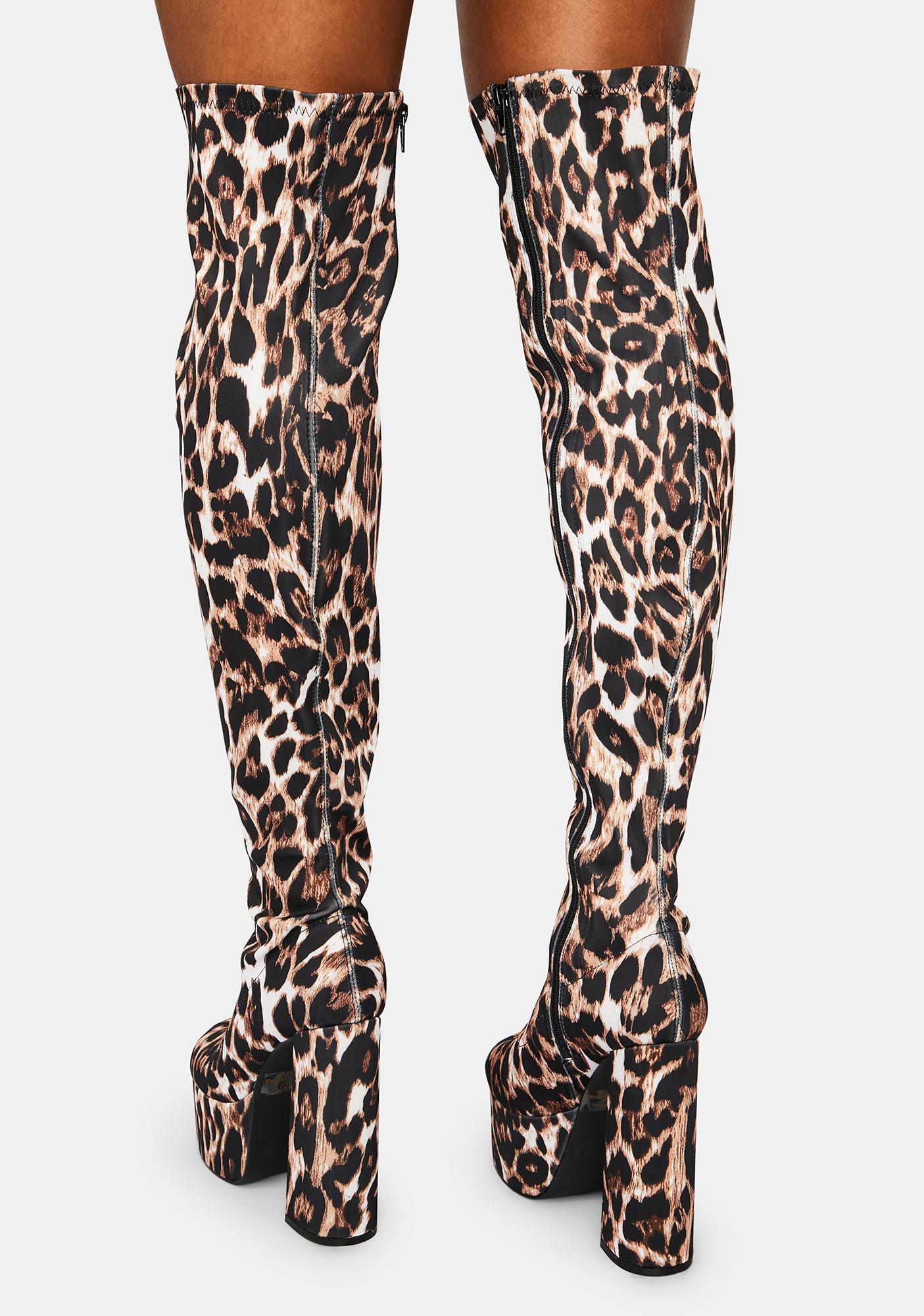 Leopard Midnight Curfew Boots