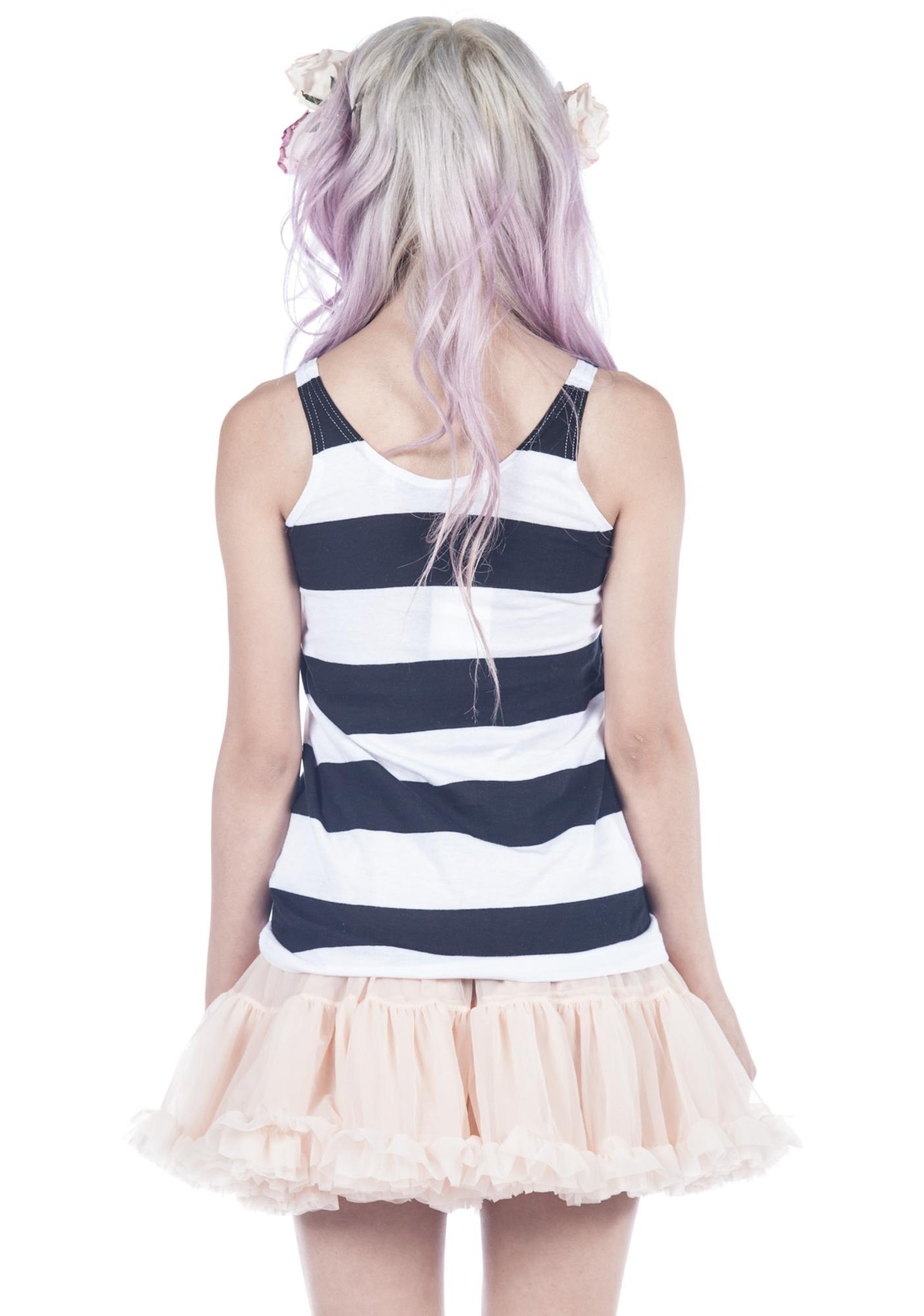 Joyrich I'm Cute Stripe Tank