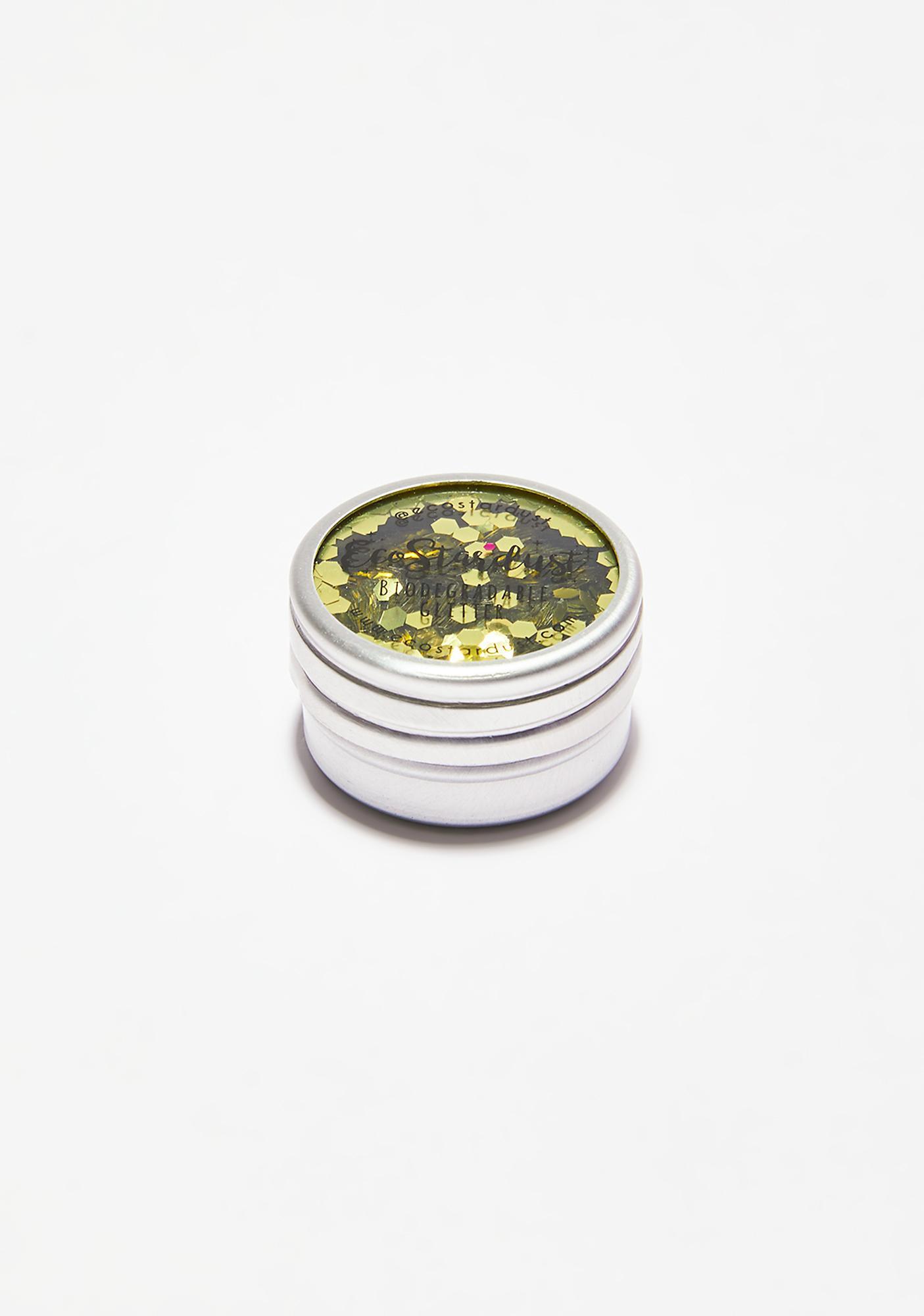 EcoStardust Ultra Chunky Biodegradable Gold Glitter