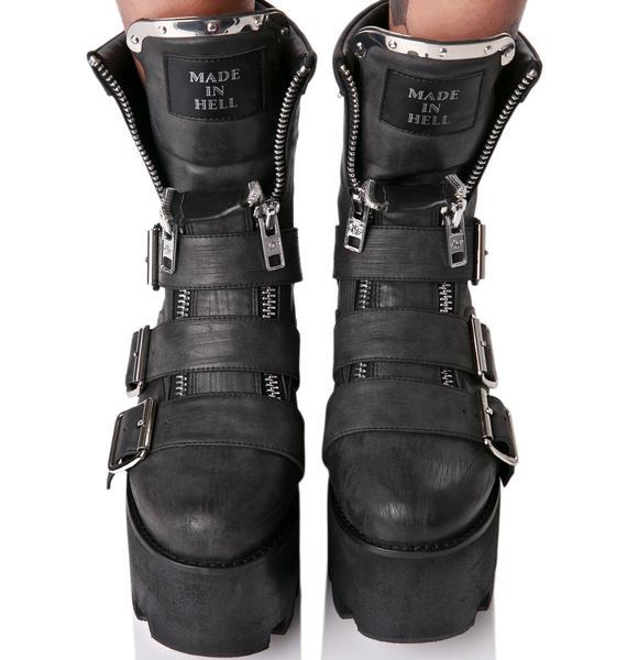 Current Mood Detroit Boots