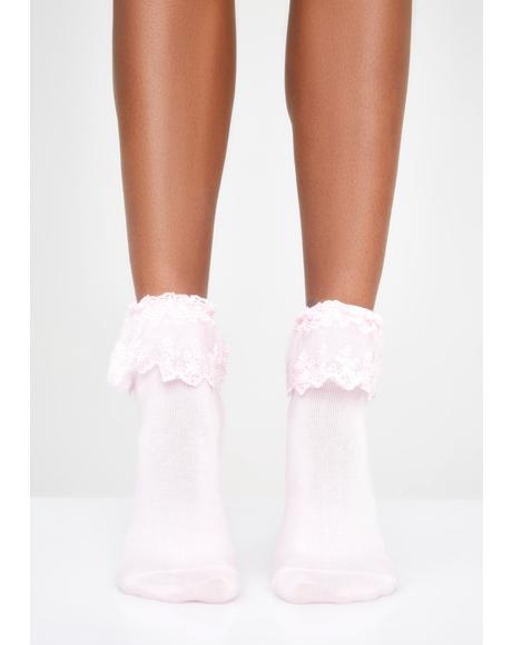 Sugar Spoiled Rotten Ruffle Socks