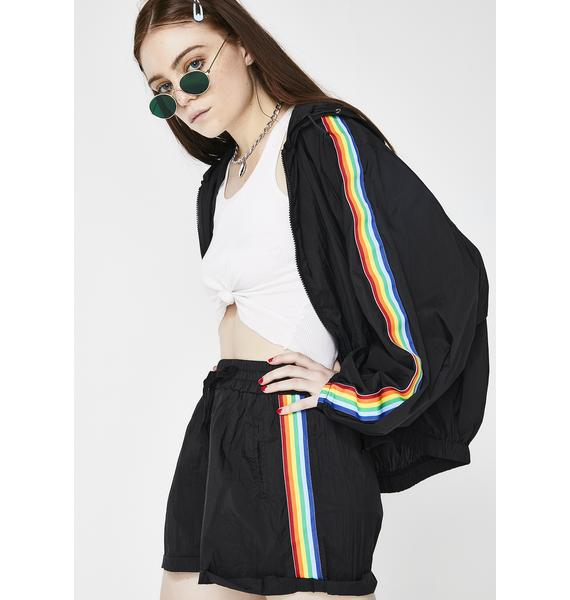 Chasing Rainbows Shorts
