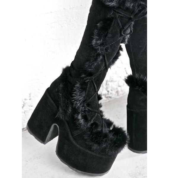 Demonia Vigilance Platform Boots