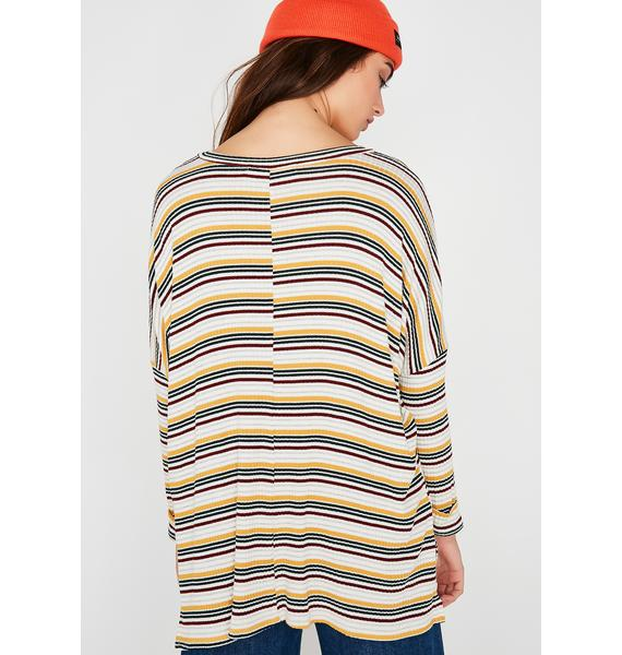 In Trouble Stripe Top