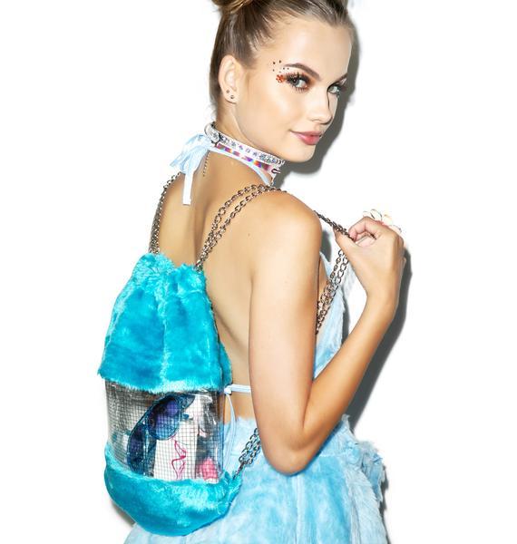 Aqua Dreamz Drawstring Backpack