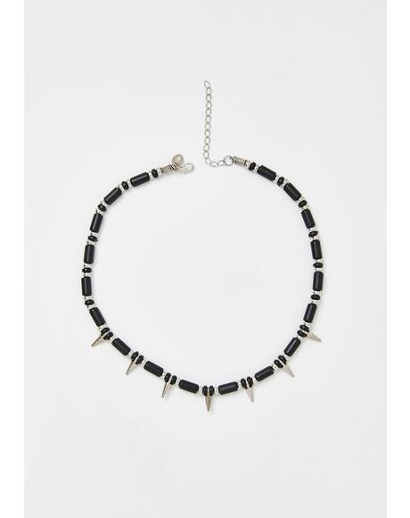 Brutal Vibe Spike Necklace