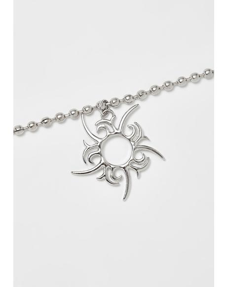 Solar Return Charm Necklace