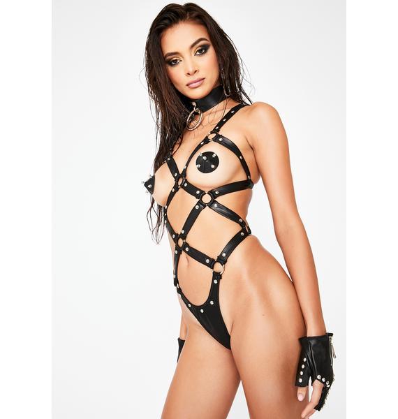 Twizted Mistress Bondage Teddy