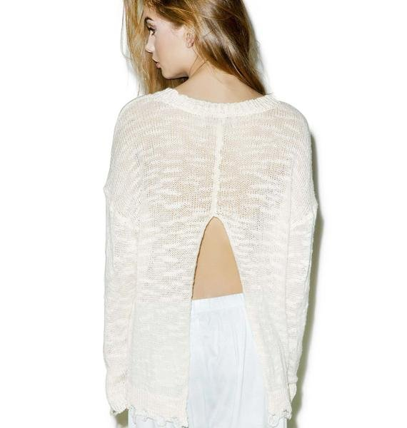 Wildfox Couture Unicorn Dream Carlotta Sweater