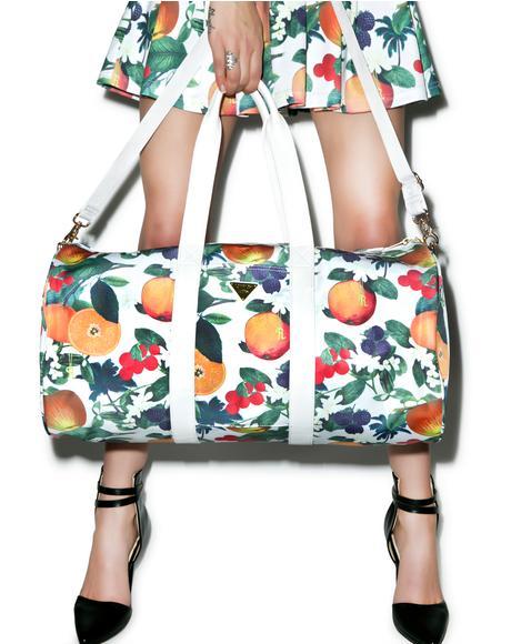 Orange Blossom Boston Bag