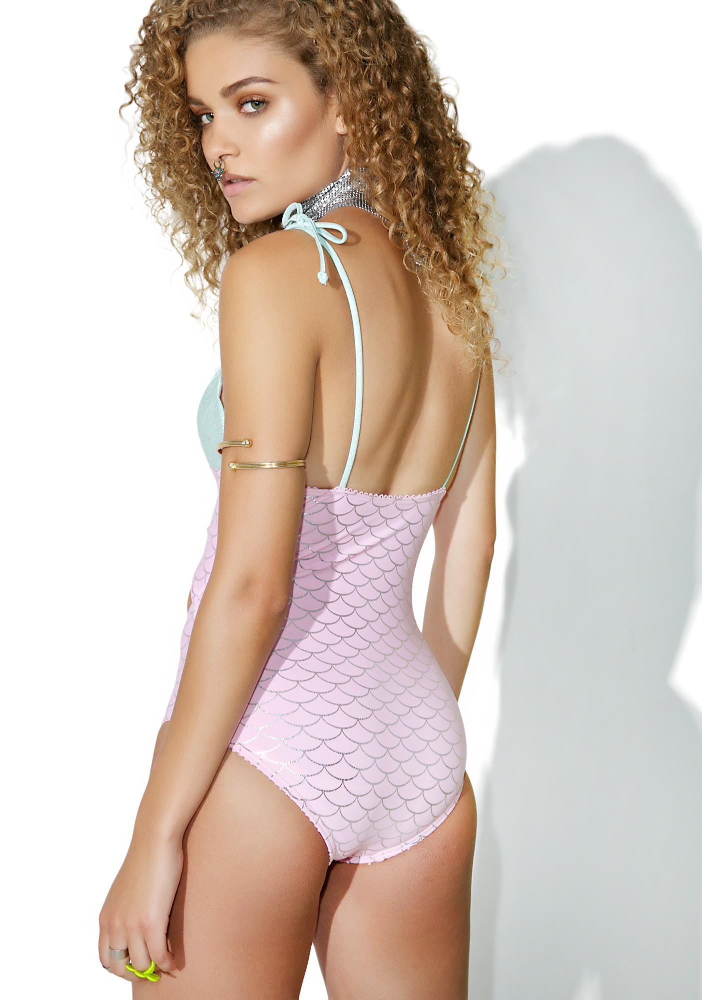 Syren's Kiss Cutout One Piece