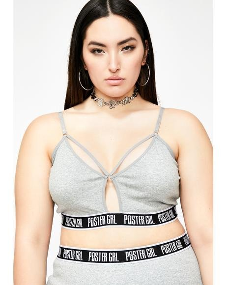 Go Boss Mode Strappy Bra
