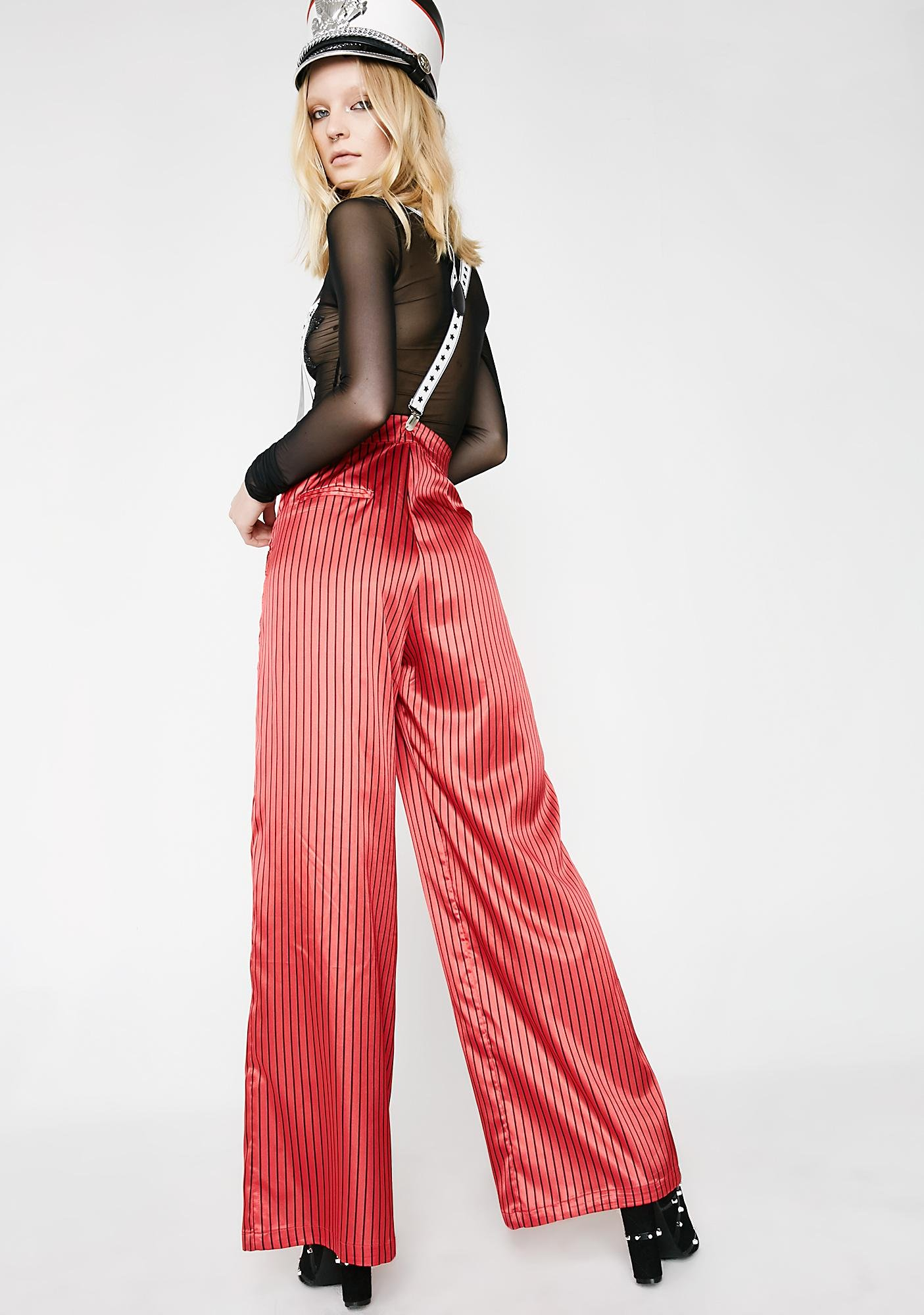 Jaded London Pinstripe Oversized Trousers