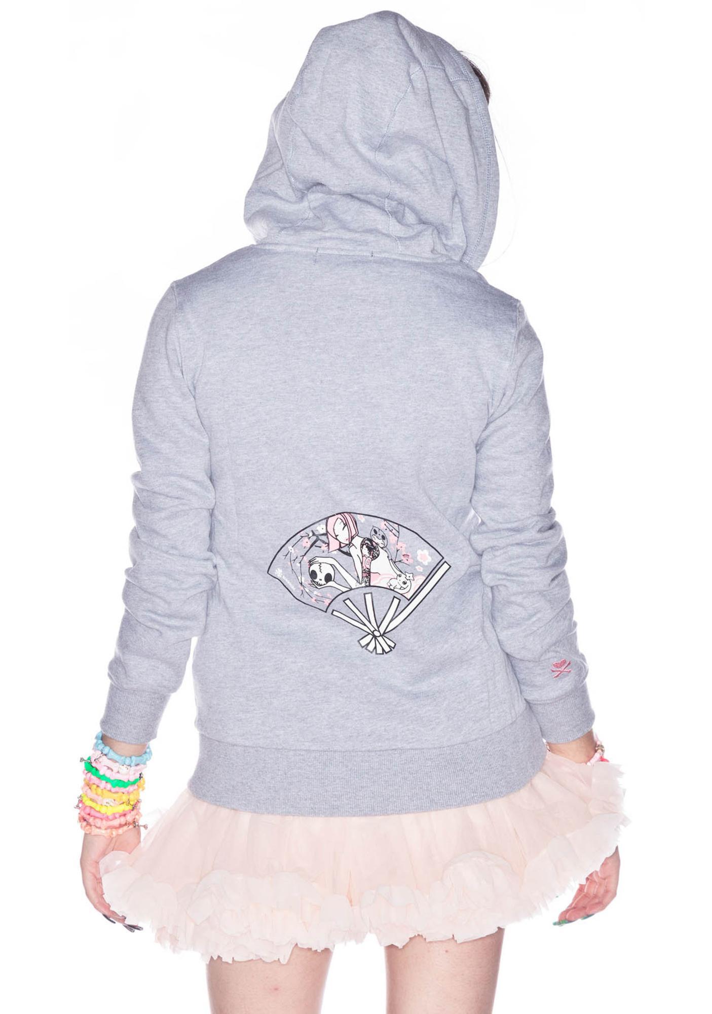 Tokidoki Domo Unicorno Zip Hoodie