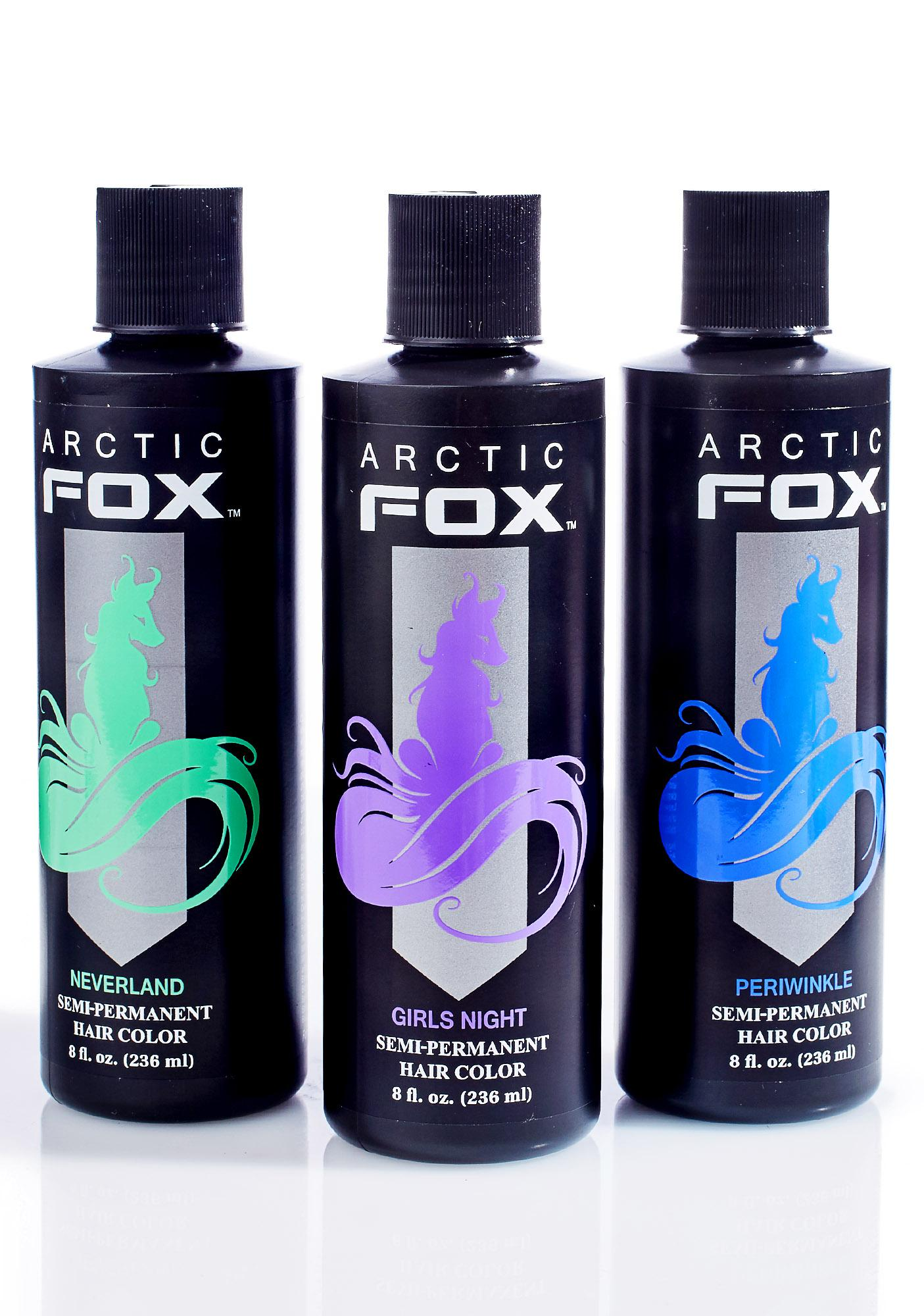 Arctic Fox Periwinkle Hair Dye