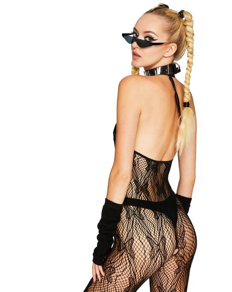 Heart Aflutter Lace Bodystocking