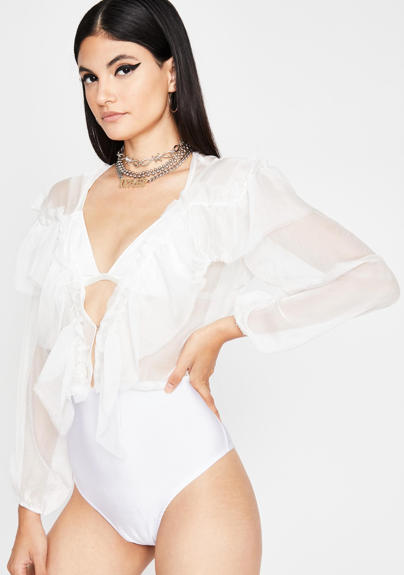 Angel Celeb Status Sheer Bodysuit