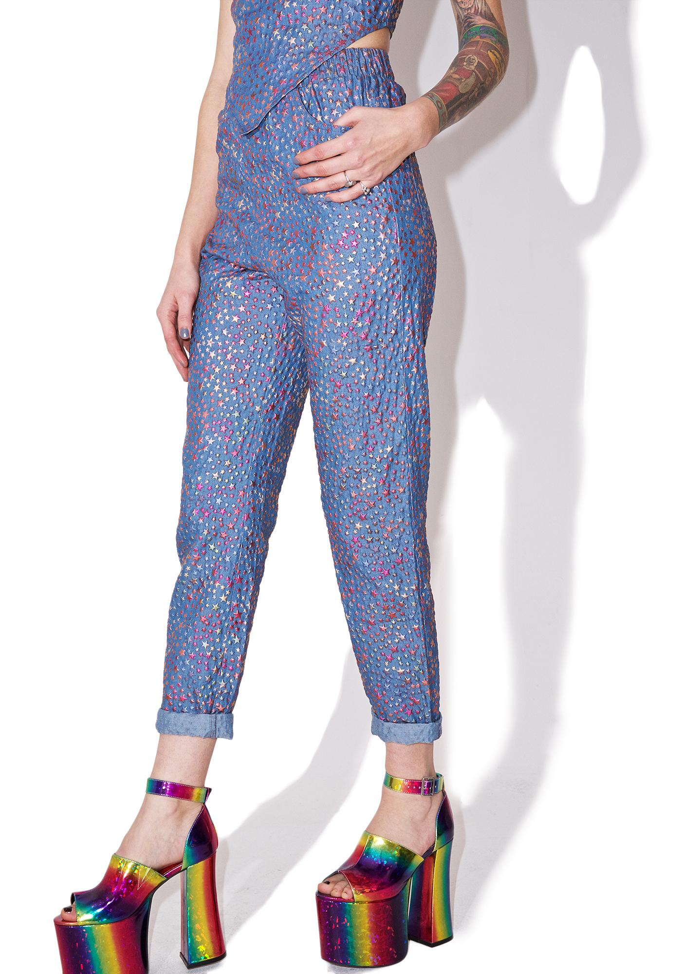 As I Am  Starshine Printed Jeans