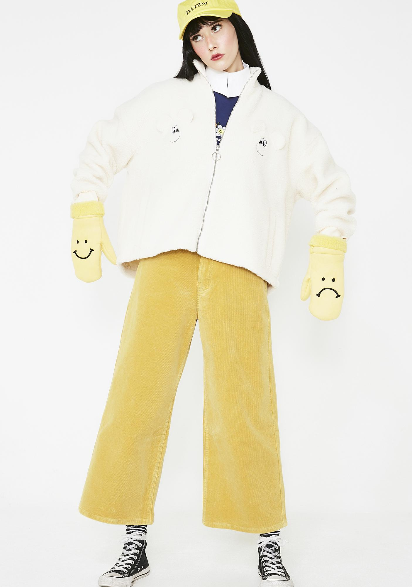 623013cf77 ... Lazy Oaf Teddy Bear Jacket ...