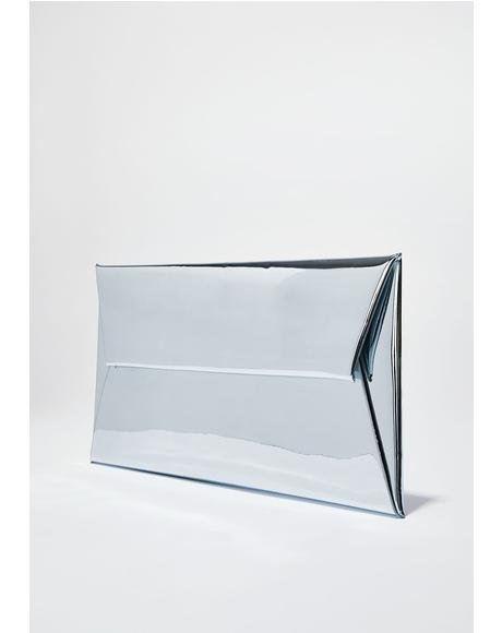 Mirror Mirror Metallic Clutch