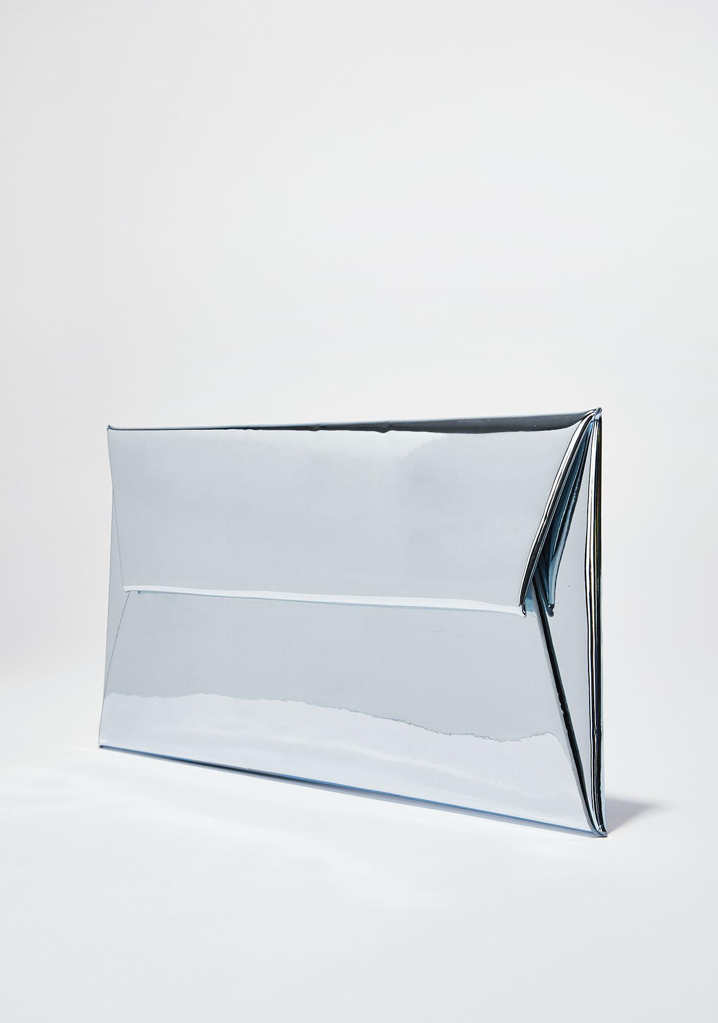 Mirror Mirror Metallic Clutch