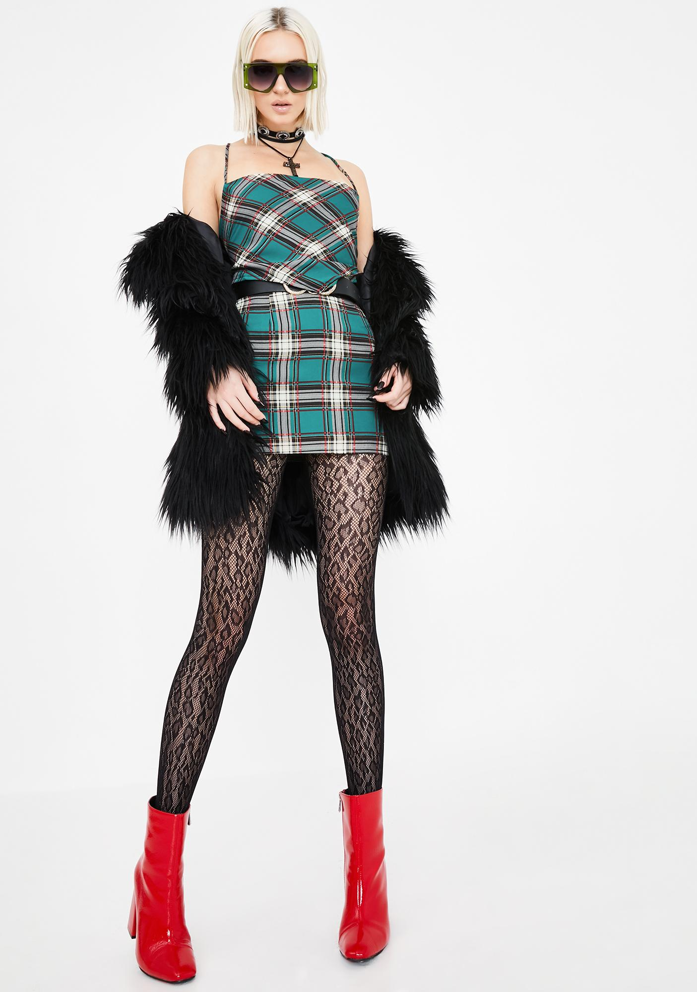 Jagger & Stone Austin Plaid Mini Skirt