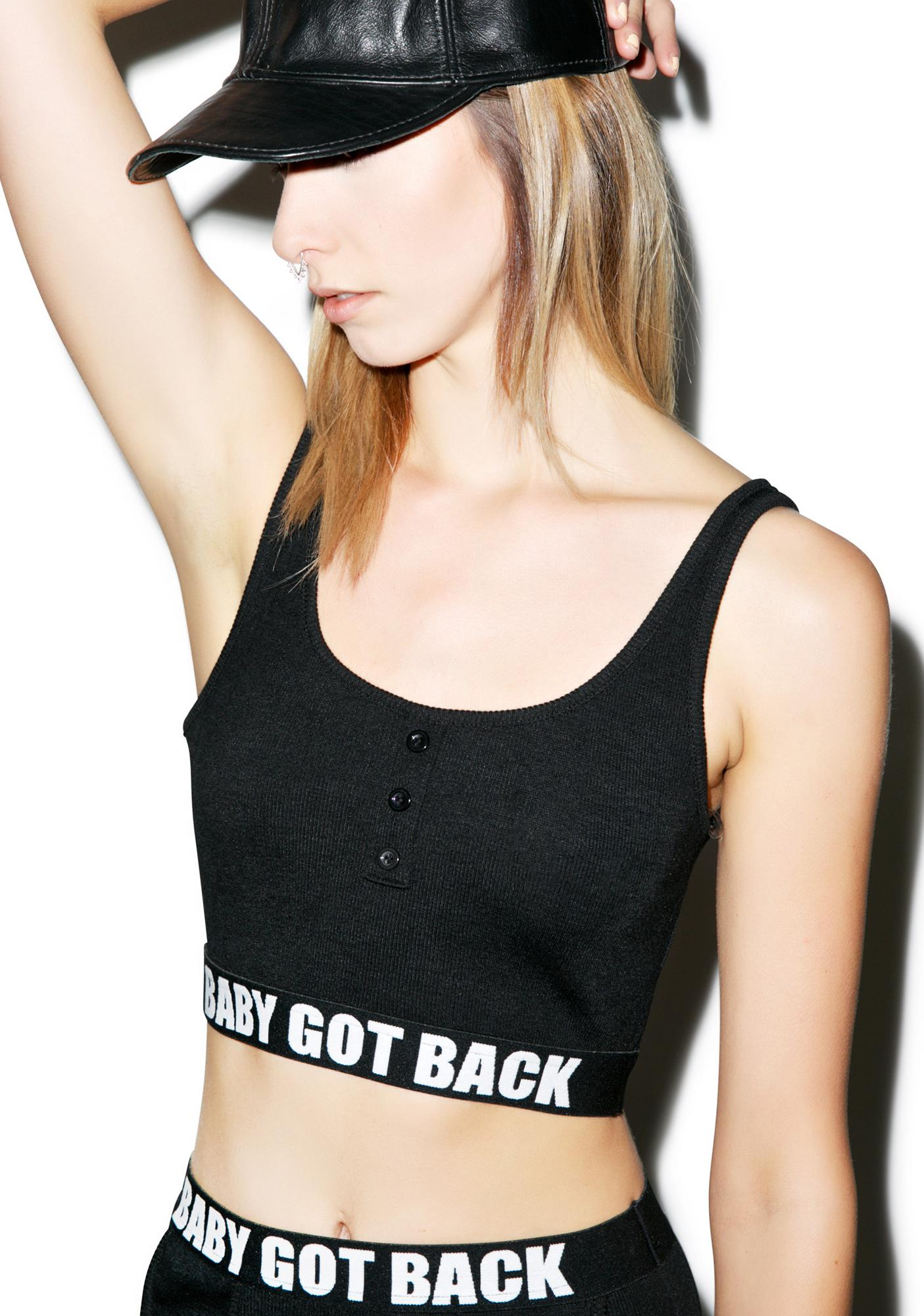 Baby Got Back Bra Top