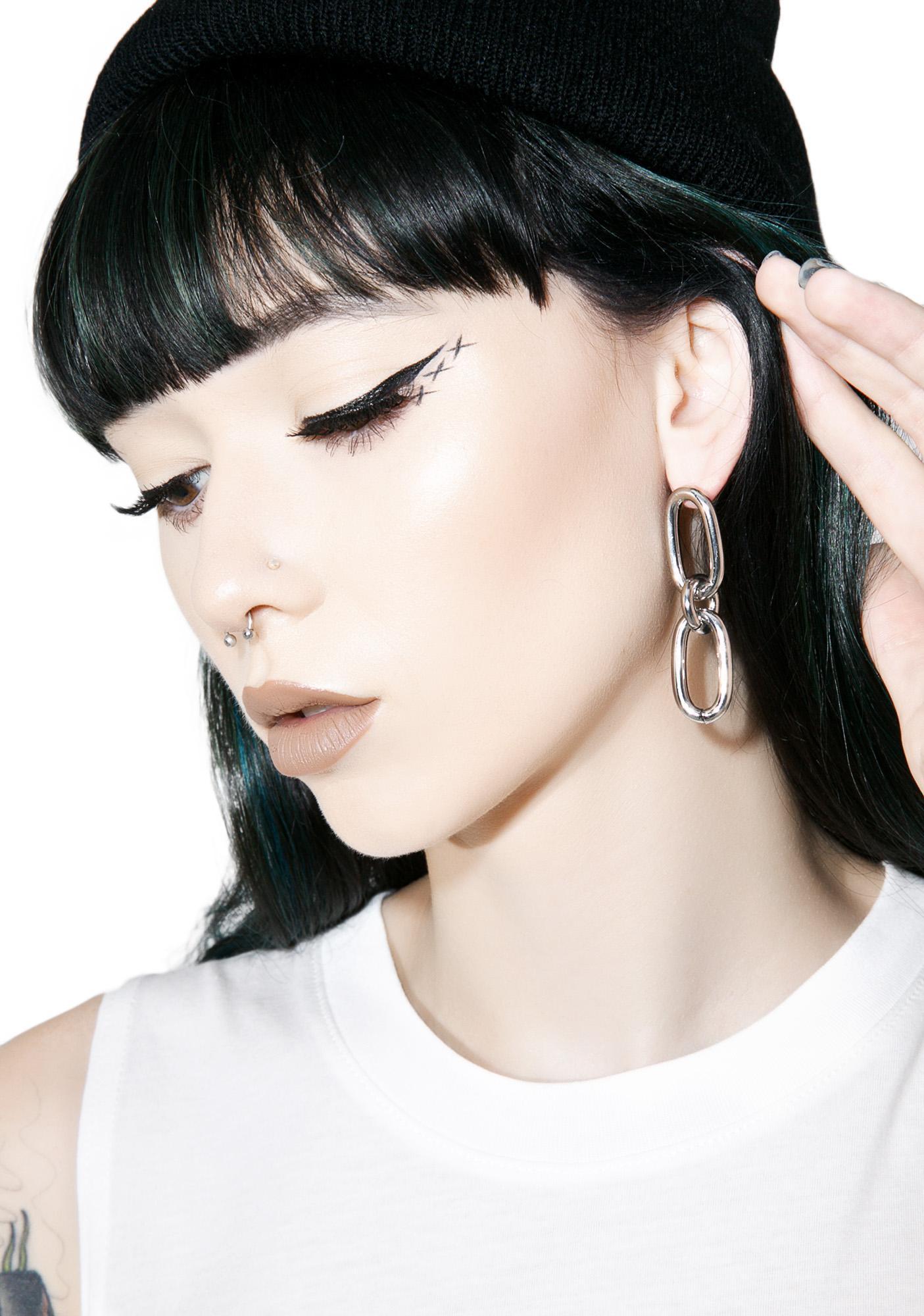 Cheap Monday Linked Earrings